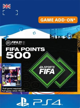 FIFA 21 Ultimate Team 500 Points UK PS4 / PS5