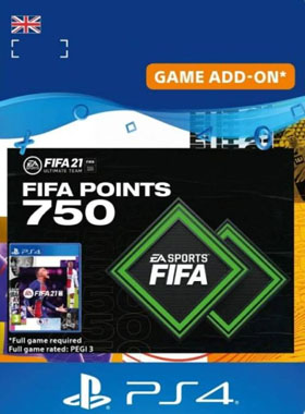 FIFA 21 Ultimate Team 750 Points UK PS4 / PS5
