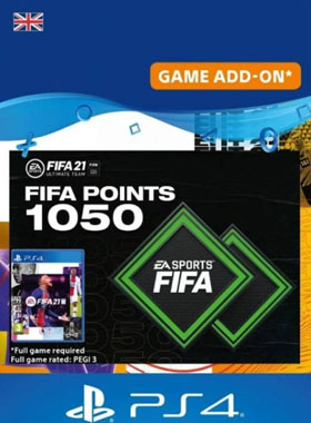 FIFA 21 Ultimate Team 1050 Points UK PS4 / PS5