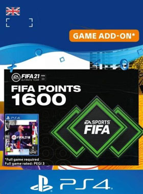 FIFA 21 Ultimate Team 1600 Points UK PS4 / PS5