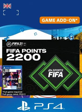 FIFA 21 Ultimate Team 2200 Points UK PS4 / PS5