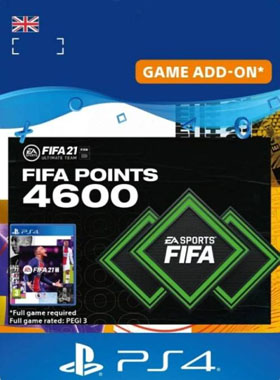 FIFA 21 Ultimate Team 4600 Points UK PS4 / PS5