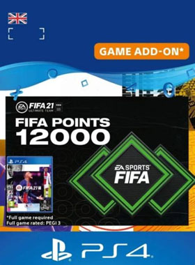 FIFA 21 Ultimate Team 12000 Points UK PS4 / PS5