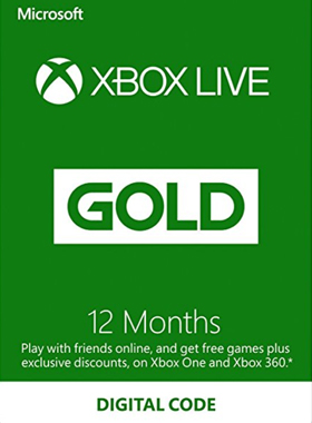 12 Month Xbox Live Gold Membership (EU/UK)