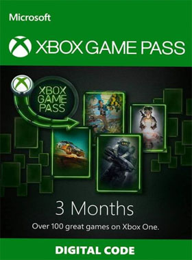 3 Month Xbox Game Pass Digital Download