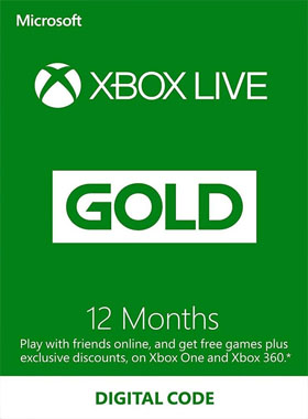 Xbox Live 12 Month Gold Subscription (Turkey)