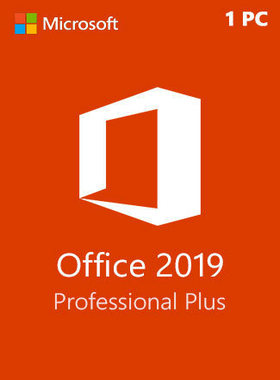 Microsoft Office Professional Plus 2019 1 PC