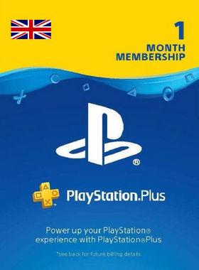 Playstation Plus 1 (30 day) Month Membership Code (UK)