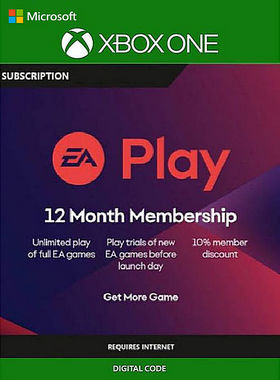 EA Play (EA Access) - 12 Month Subscription Xbox One