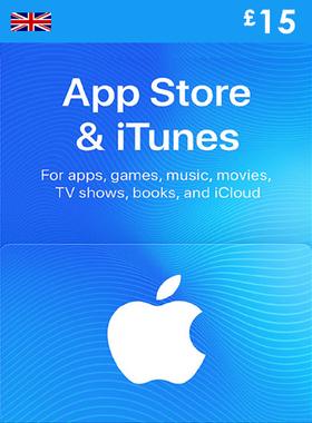 iTunes £15 UK Gift Code