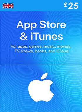iTunes £25 UK Gift Code
