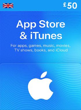 iTunes £50 UK Gift Code