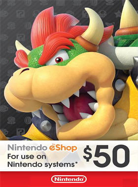 Nintendo eShop $50 Gift Cards