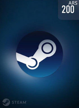 Steam Wallet Code 200 ARS - Argentina Peso