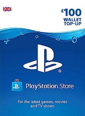 £100 PlayStation PSN Card UK