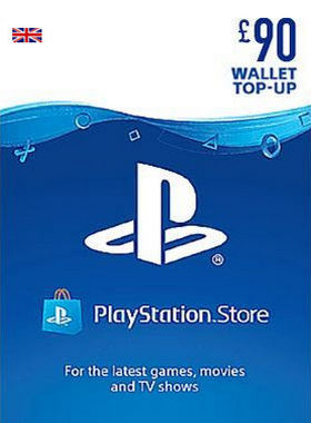 £90 PlayStation Network Pre Paid Digital Code