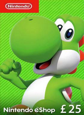 Nintendo eShop Code £25 UK