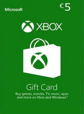 Xbox €5 EUR Gift Code