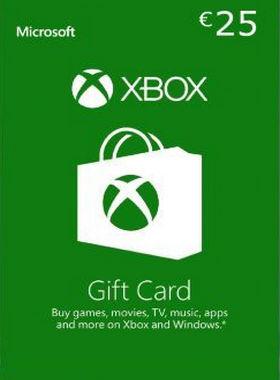 Xbox €25 EUR Gift Code