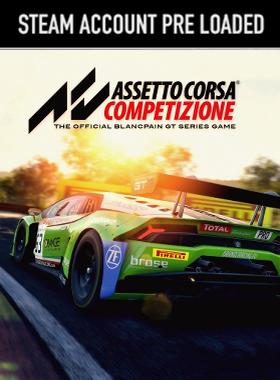 Assetto Corsa Competizione PC Steam Pre Loaded Account