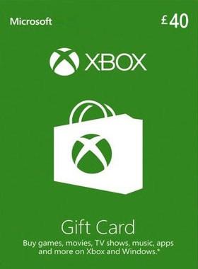 £40 Xbox Gift Card UK