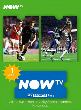 NOW TV Sky Sports 1 Week Pass
