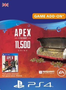 Apex Legends 11500 Coins PS4