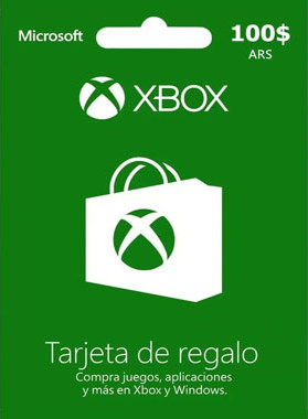 Xbox Gift Card Argentina 100 ARS
