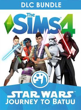 The Sims 4 - Star Wars: Journey to Batuu DLC Bundle Origin CD Key