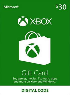 $30 Xbox Gift Card US