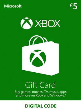 Xbox €5 EUR Gift Card