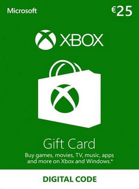 Xbox €25 EUR Gift Card