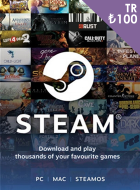 Steam Gift Card ₺100 TR