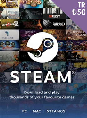 Steam Gift Card ₺50 TR