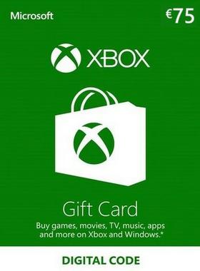 Xbox €75 EUR Gift Card