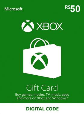 Xbox Gift Card Brazil 50 BR