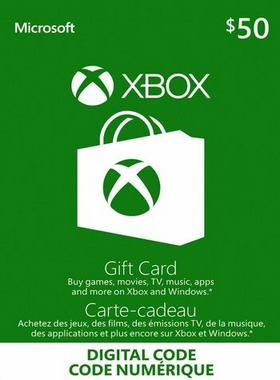 Xbox Gift Card Canada $50 CA