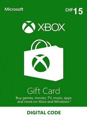 Xbox Gift Card Switzerland 15 CHF