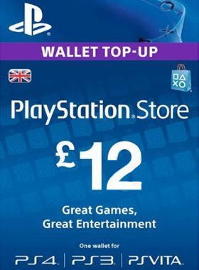£12 PlayStation PSN Card UK