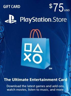 $75 PSN US Card