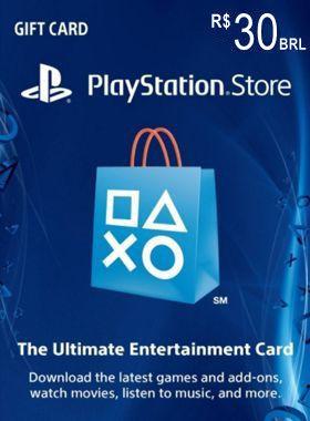 R$30 PlayStation PSN Card BR