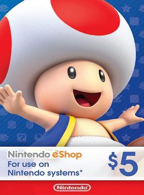 Nintendo eShop $5 Gift Cards