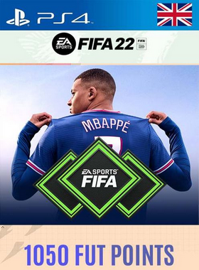 FIFA 22 1050 Points PS4/PS5 [UK]