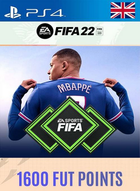 FIFA 22 1600 Points PS4/PS5 [UK]