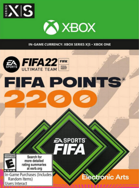 FIFA 22 2200 Points Xbox One