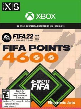 FIFA 22 4600 Points Xbox One