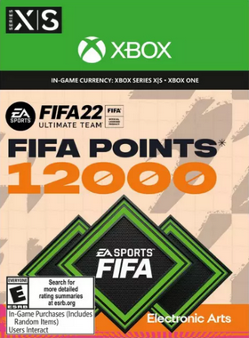 FIFA 22 12000 Points Xbox One
