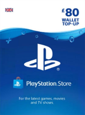 PSN Wallet Top Up - £80.00 UK