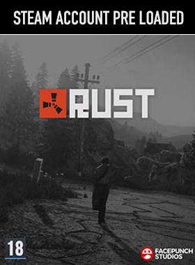 Rust PC Steam Pre Loaded Account