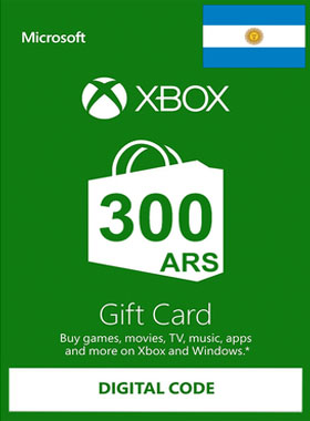 Xbox Gift Card Argentina 300 ARS